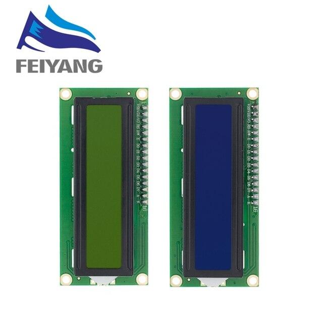 20Pcs 1602 16X2 Karakter Lcd Display Module HD44780 Controller Blauw/Groen Scherm Blacklight LCD1602 Lcd Monitor