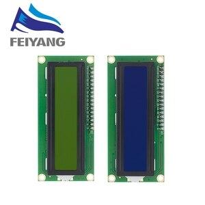 Image 1 - 20pcs 1602 16x2 LCD התווים מודול תצוגת HD44780 בקר כחול/ירוק מסך blacklight LCD1602 LCD צג