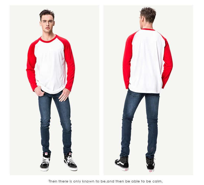 LYTLM Mens 가을 의류 한국어 라글란 남성 티셔츠 XXXL 모달 남성 티셔츠 캐주얼 슬림 피트 Streetwear 남성 긴팔 티셔츠