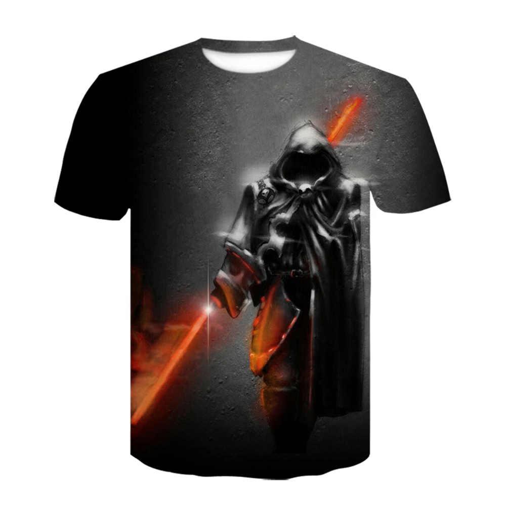 Di alta Qualità Uomo T Shirt Star Wars Cartoni Animati Abbigliamento Film 3d T-Shirt Gli Uomini Adulti Darth Vader Magliette Divertenti per Teenboys hip Hop