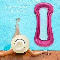 Schwimm Wasser Hängematte Float Liege Schwimm Spielzeug Aufblasbare Bett Stuhl Schwimmbad Faltbare Aufblasbare Hängematte Bett