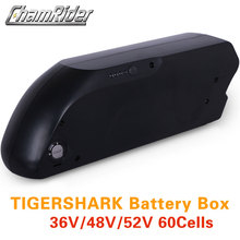 Case Battery-Box Electric-Bike 18650-Cell-Holder 10S 5V USB 13S 6P 5P Tigershark Down-Tube