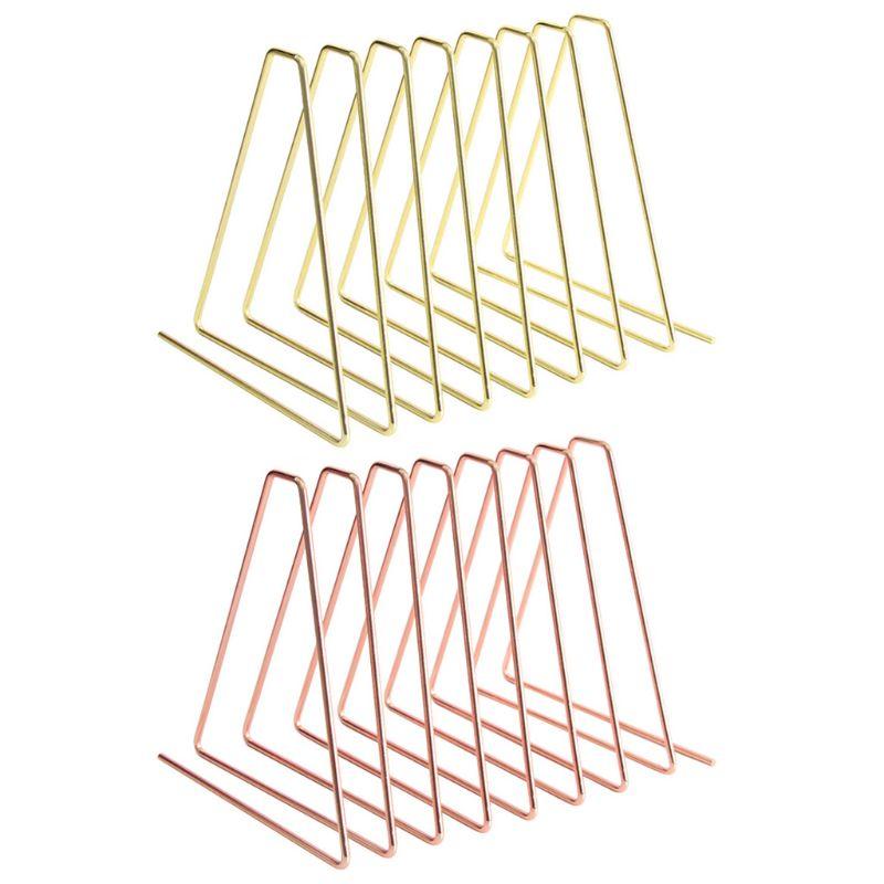 New Flexible Bookend Metal Book Holder Desktop Organizer Support Stand Shelf Rack Qyh
