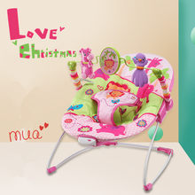 Baby Swing Baby Rocking Chair Electric Baby Cradle With Remote Control Cradle Rocking Chair For Newborns Swing Chair(China)