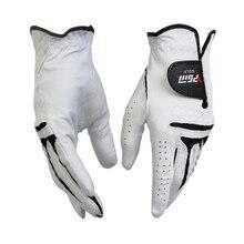 Высокое качество мягкие удобные прочные мужские перчатки для гольфа из овчины