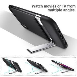 Image 2 - Esr caso para iphone xr x xs max se2 8 7 plus caso de metal kickstand vertical horizontal suporte pára choques capa para iphone se 2020 xs x