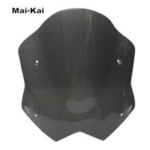 MAIKAI For YAMAHA TMAX530 T-MAX530  2012-2016 Motorcycle Windscreen Wind Deflector Windshield Head Cover Sun Visor Viser