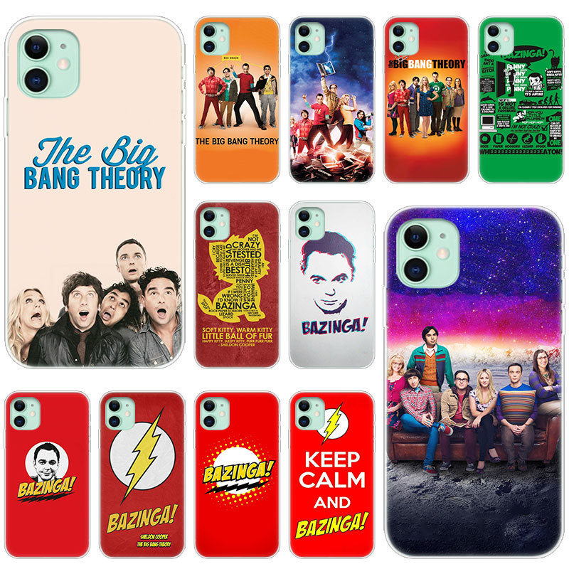 Hot The <font><b>Big</b></font> <font><b>Bang</b></font> Theory Family Soft Silicone <font><b>Case</b></font> for Apple iPhone 11 Pro XS Max X XR 6 6s 7 8 Plus 5 5s SE Fashion Cover image