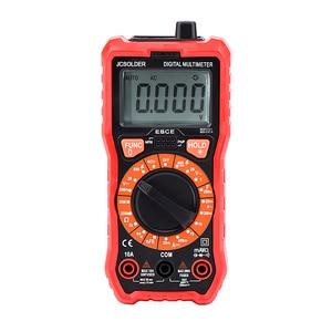 Image 2 - JCD Digital Multimeter Auto Ranging 6000 counts AC/DC  voltage meter Flash light Back light Large LCD Scrern soldering iron kits