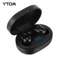 YTOM TYPE C TWS Mini Ture 5.0 Touch Bluetooth Earphones HD Stereo Wireless Headphones,Noise Cancelling Gaming Headset PK GT1(China)