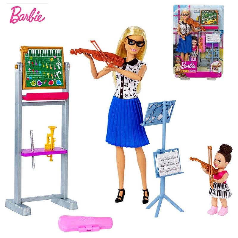 Музыкальный костюм кота учителя, куклы, оригинальные куклы Барби, аксессуары, игрушки для девочек, скрипачки, детские игрушки для девочек, д