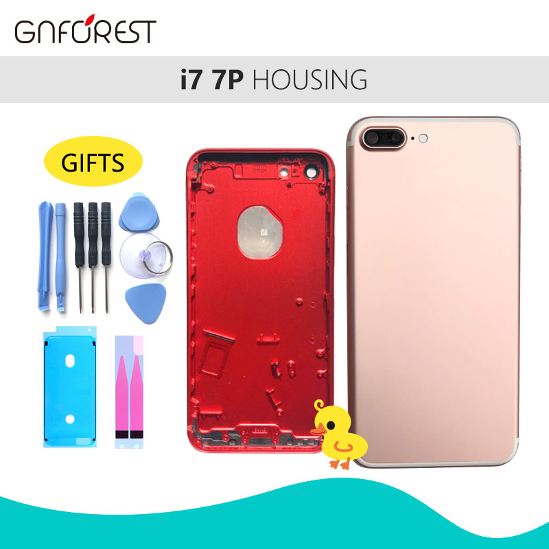 Housing-Cover iPhone 7 Battery-Cover Middle-Frame Back 7-Plus for 7G 7-plus/Back/Housing-cover/..