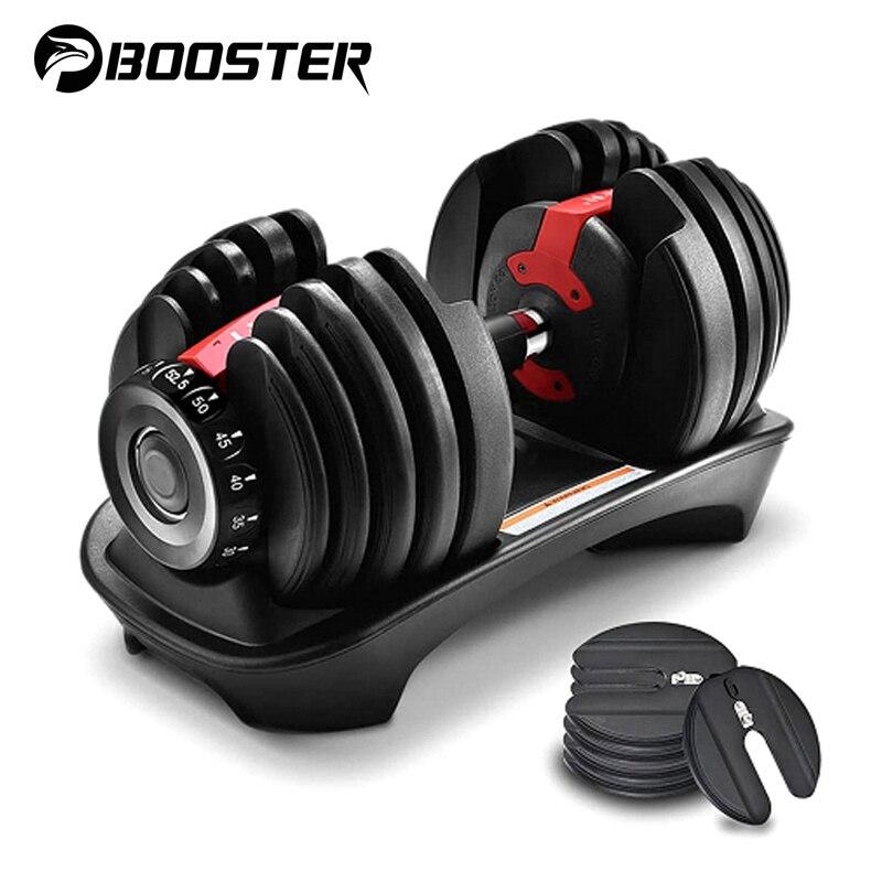 24KG 40KG Adjustable Dumbbell Weights Set lifting Training Dumbells Kit Sport Home Gym Equipment for Home Fitness Bodybuilding