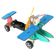 3D Wood Creative Scientific Toys DIY Mini Warhawk Glider Production Science & Technology Invented Educational Assembling