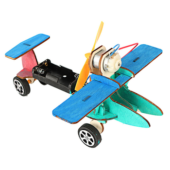 3D Wood Creative Scientific Toys DIY Mini Warhawk Glider Production Science & Technology Invented Educational Assembling Toys pulse production technology
