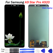 For SAMSUNG Galaxy A9 Star Pro LCD Display OLED Touch Screen A9S A920F screenFor 2018