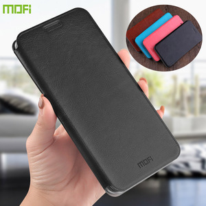 Image 1 - MOFi For Xiaomi Redmi 8 Cases Book Flip Style High Quality Mobile Phone Cases For Redmi 8A Note 8 Pro Stand Cover