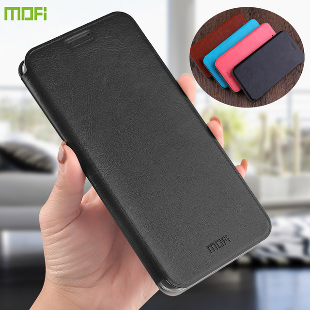MOFi For Xiaomi Redmi 8 Cases Book Flip Style High Quality Mobile Phone Cases For Redmi 8A Note 8 Pro Stand Cover