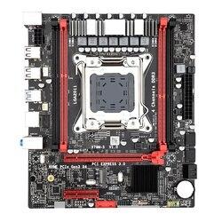 PPYY nowość X79M S LGA 2011 V2 płyta główna 2 kanał DDR3 32G pamięci RAM M.2 NVME SATA III USB 3.0 dla Xeon V2 E5 wszystkie serie  takich jak 2680|Płyty główne|Komputer i biuro -