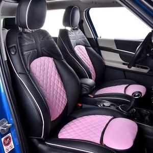 Image 4 - 자동차 좌석 커버 BMW 미니 쿠퍼 R56 F60 로얄 CRAFTSM 도매 방수 가죽 자동 좌석 수호자 자동차 액세서리