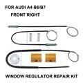 Окно автомобиля для AUDI A4 B6/B7 электрический регулятор окна Ремонтный комплект передний правый OE #8E0837462  2000-2008