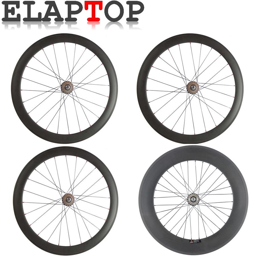 700C Mix Hubs 38mm deep Road bike Bike Carbon wheels Front wheel and Rear wheel