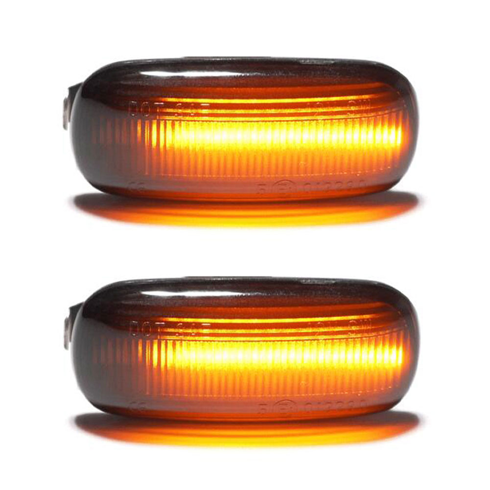2 Pieces Led Dynamic Side Marker Turn Signal Light Sequential Blinker Light For Volkswagen VW Bora Golf 3 4 Passat 3BG Polo SB6