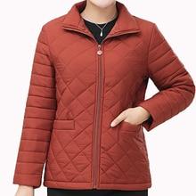 Winter Women Puffer Basic Jackets Red Black Parkas Lightweight Quilted Coat Female Turn Down Collar Zipper Front Wadded Outwear цены онлайн