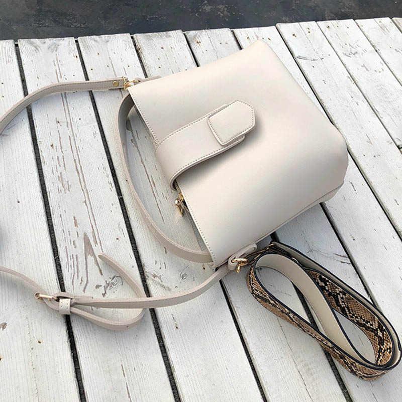 DALFR concepteur femmes sacs à main 2019 nouvelle mode seau décontracté sac fourre-tout dames de haute qualité PU sac de messager solide sacs à bandoulière