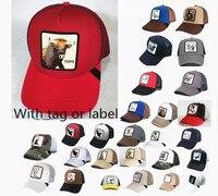 GOORIN BROS-gorra de béisbol con bordado de animales para hombre, gorro de béisbol con bordado de animales, malla bordada, hats-A4
