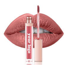 Matte Lipstick Lipgloss Cosmetics Private-Label Custom-Logo Make-Your-Own-Makeup-Brand