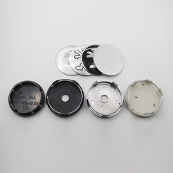 4 pçs 56mm 60mm logotipo do carro emblema roda centro hub tampão aro automático reequipamento à prova de poeira crachá cobre adesivo estilo acessórios bz