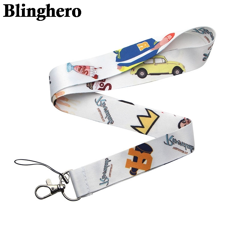 CA704 Wholesale 10pcs/lot Riverdale TV keychain Neck straps Lanyards for key ID Card Pass Cellphone USB badge holder DIY Hanging