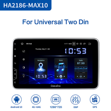 Dasaita Android 10 IPS ecran 2 Din Carplay universel multimédia GPS Navigation Bluetooth MP3