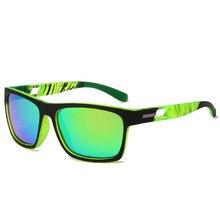 Men Square Polarized Sunglasses Brand Design Vintage Men Coating Driving Sun glasses UV400 Shades Eyewear Oculos de sol