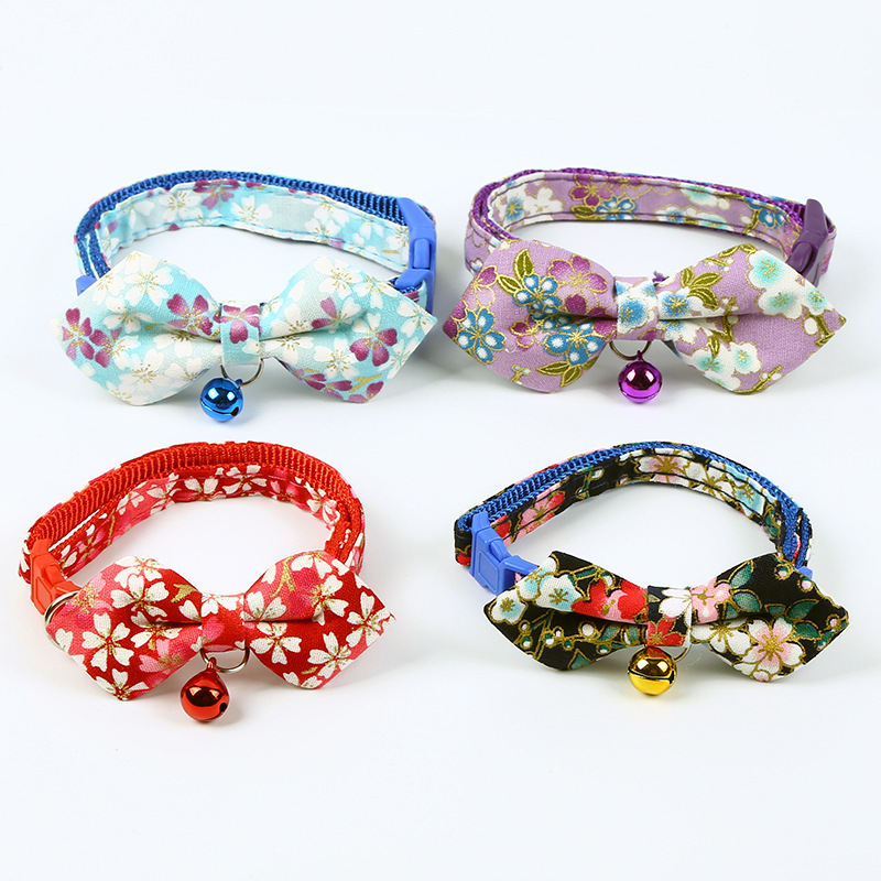 Cute And Wind Neck Ring Pet Supplies Dog Home Outdoor Traction Collar