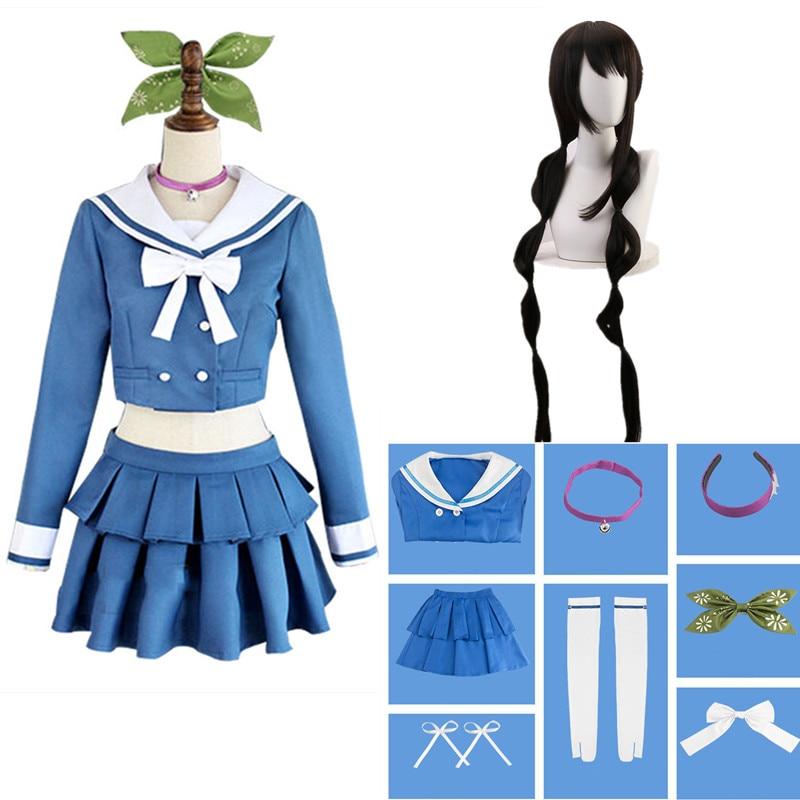 Danganronpa V3 Killing Harmony Tenko Chabashira Cosplay Costumes Women Dress School Uniform Clothing
