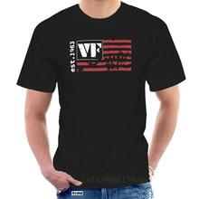 T-Shirt à manches courtes pour hommes, avec drapeau d'artiste, Vic Firth, @ 072073