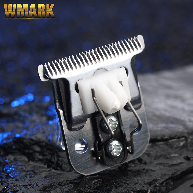 WMARK T-1 T-outliner Blade For Andis Slim Pro Li Trimmer D7 D8  Clipper Good Sharpness T-blade For Detail Trimmer