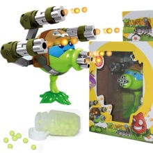 2019 plants vs zombies figures Gatling Pea Shooter Anime Action Figures My World Toys For Children Gifts