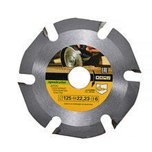 125mm 6T Woodworking Circular Saw Blade Multitool Carbide Tipped Wood Carving Cutting Grinder Saw Disc Blades for Angle Grinders