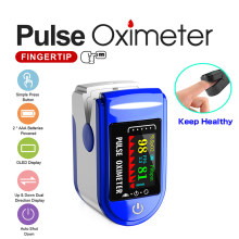 Novo medidor de saturação da frequência cardíaca do oxigênio no sangue do oxímetro do dedo portátil médico