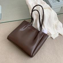 Большая женская сумка вместительные сумки на плечо натуральные