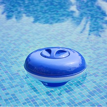 Swimming Pool Floating Sterilizer 5/8 inch Chlorine Bromine Chemical Tablet Tab Floater Dispenser Swimming Pool Accessories