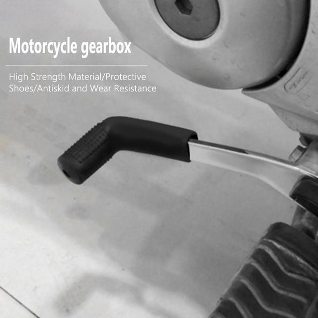 Motorcycle Electric Vehicle Hanging Gear Cover Rubber Protection Shoe Cover Rubber Shifting Lever Cover