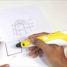 3D Stereoscopic Doodler Printing Pen Large Screen For Kid Child Education Hobbies