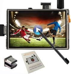 3.5 بوصة HDMI LCD TFT لمس الشاشة ل التوت بي 2 و بي 3 نموذج B إخراج الصوت مع قلم