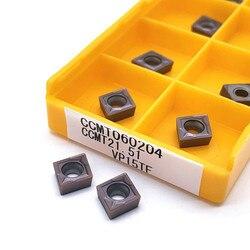10 sztuk CCMT060204 CCMT060208 VP15TF UE6020 US735 okrągłe okrągłe narzędzie do frezowania CCMT 060204 ostrze CNC narzędzie tokarskie narzędzie do frezowania Narzędzia tokarskie    -