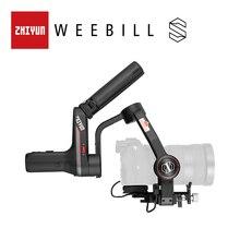 ZHIYUN resmi Weebill S el Gimbal 3 Axis görüntü iletim sabitleyici aynasız kamera OLED ekran yeni varış