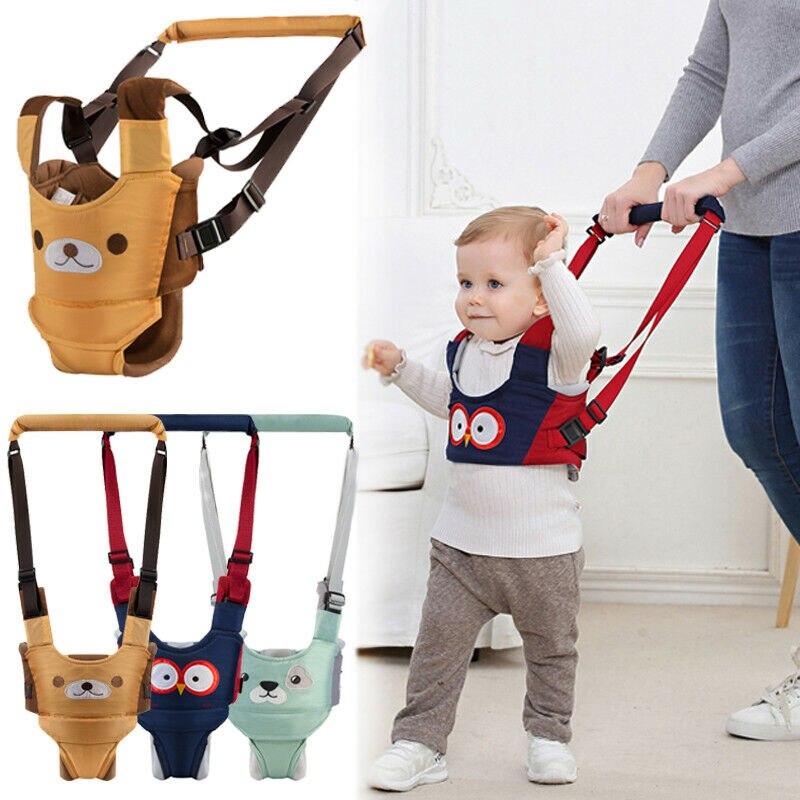 Hot Baby Kids Unisex Walker Assistant Harness Safety Toddler Belt Walking Wing Infant Kid Safe Leashes 6-24M